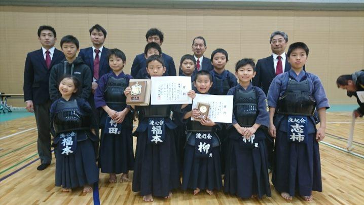 いい笑顔!剣道祭の集合写真